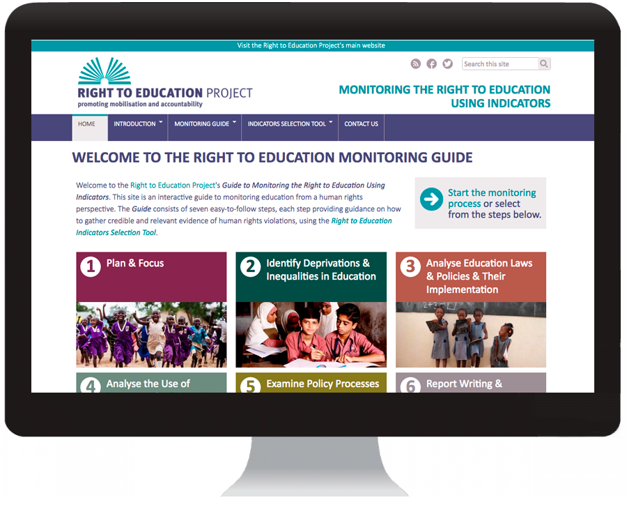 RIGHT TO EDUCATION MONITORING GUIDE